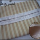 Brown Stripes Tissue Pochette (w)