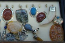 Silver pendant.