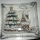Christmas Dish - Handmade Fused Glass