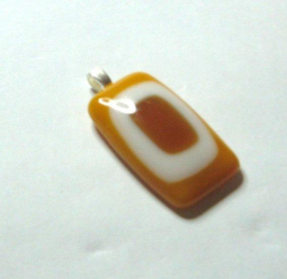 Citrus Pendant - Handmade Fused Glass