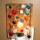 Multi Jube Night Light - Handmade Fused Glass