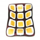 Honey Comb Soap Dish - Handmade Fused Glass