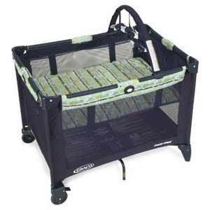 Graco Pack and Play Playard in Safari Trails