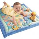 Fisher Price Nature Bearries Summer Meadow Quilt