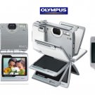 "Olympus IR500 - 4MegaPixels Digi Cam with 30x Zoom and Flip Style 2.5"" Sem-Transmissive LCD"