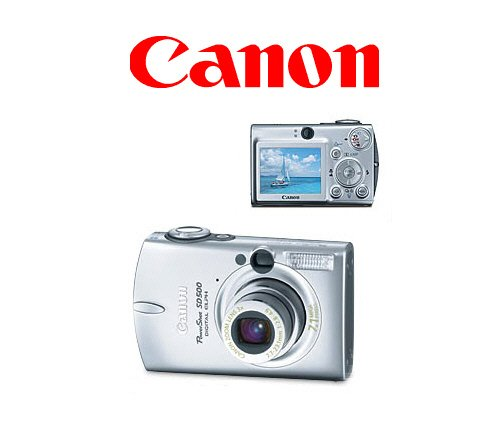 Canon PowerShot SD550 Digital ELPH 7.1 Megapixels Digital Camera with 12 x Zoom