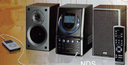 Teac EX-M5 Mini Stereo System with CD,MP3,Ipod Player