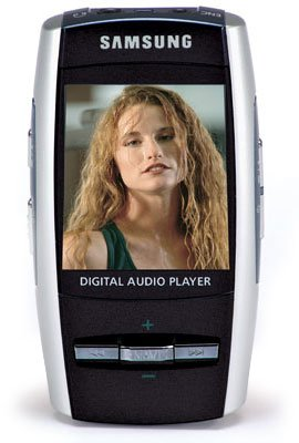 Samsung YP-T8X Portable 512 MB Digital Media MP3 Player