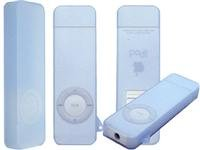 Blue Apple iPod Shuffle 1.0GB Pocket-Size Digital Music MP3 Player