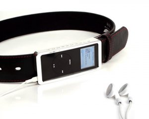 IBelt  High Tech Leather Belt for Ipod Nano