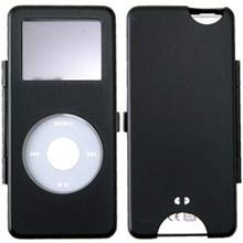 Apple Nano Metal Black Ipod Case