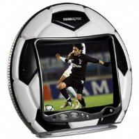 Hannspree 10-Inch Leather Dribbling Soccer Ball LCD TV