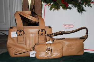 (New) Coach SOHO Leather - 3 piece Group   ***Sales Price $425.00***