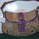 (New) Coach SOHO Cloth Signature (MSRP) $378.00  **Save $128.00**