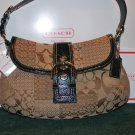 (New) Coach SOHO Signature Pwk Flap (MSRP)$378.00  **Save $128.00**