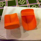 NEW Tupperware Lot of 2 scops orange color
