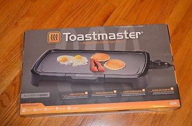 Toastmaster TM-201GR Griddle 10 X 20 Black Nonstick New
