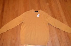 BIG KIDS/MENS- Medium size SWEATERS--Gap-- YELLOW