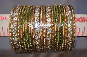 Big lot of 20 chudis, Bridal Bangles each color size 2.0, 2.6