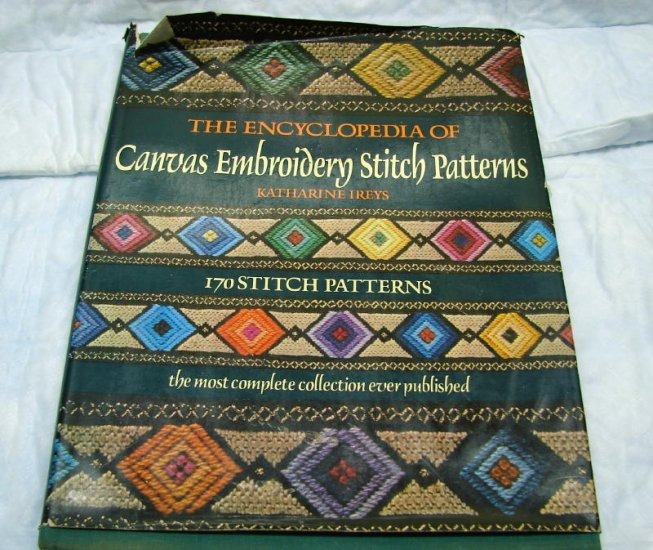 Encyclopedia Of Canvas Embroidery Stitch Patterns Book