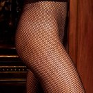 NEW SEXY SHEER BLACK *RED or WHITE FISHNET PLUS PANTYHOSE