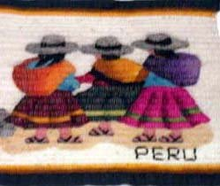Tapestry - Three Women Walking - small
