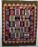 Tapestry Handmade Tapestry  Incan Calendar