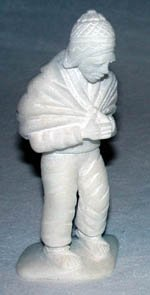 Peruvian Huamanga Peru Stone Figure - Man (click for full image)