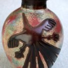 Chulucanas Nazca Pottery Handmade in Peru Decorative Vase