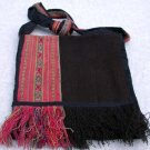 Woven Purse Fabric Alpaca Wool Handmade in Peru