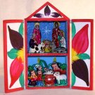 Retablo  Nativity Scene Made in Peru