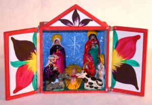 Retablo - Nativity Scene