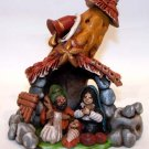 Nativity Scene  Clay Handmade in Peru