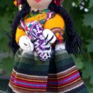 Handcrafted Peruvian Cloth Doll