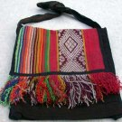 "Alpaca/Wool Woven Purse Bag Multi-Color 12 1/2"" x 11"" Handmade in Peru"