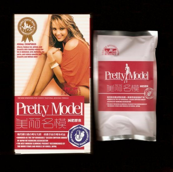 6 boxes Pretty Model Slimming and Whitening Pills