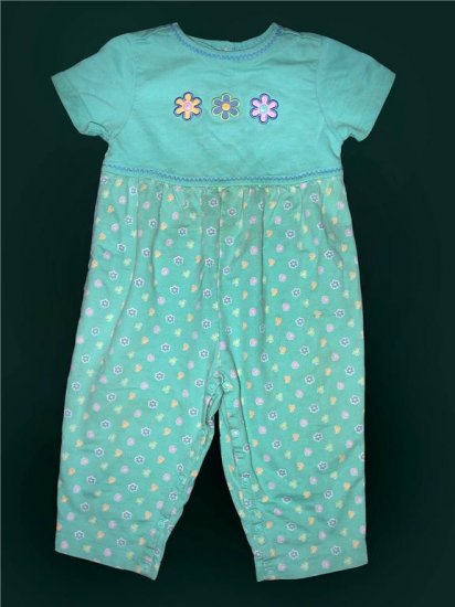 Gymboree SPRING IN BLOOM Ric Rac Romper XS 1½ - 2T