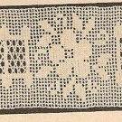 Crochet - Edging-Insertion  / Lacet Stitch (ref: e1025c)