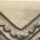 Crochet - Hankerchief Edging (ref: e1034c)