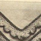 Crochet - Hankerchief Edging (ref: e1034c)