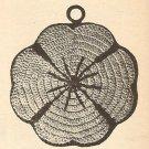 Crochet - Clover Pan Pot Holder (ref: e1047c)