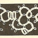 Tatted - Block and Ring Edging (ref: e1048t)