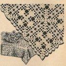 Crochet - Filet Cross Tablecloth (ref: e1053c)