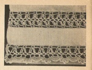 Crochet - Edging and Insertion (ref: e1085c)
