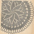 Knit  - Flower Doily (ref: e1089k)
