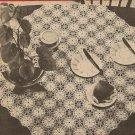 Crochet - Tea Cloth (ref: e1090c)