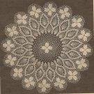 Crochet - Dogwood Doily (ref: e1092c)