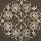 Crochet - Doily - Looks Like Tatting (ref: e1097c)
