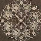 Crochet - Doily - Looks Like Tatting (ref: e1097c)