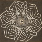Tatted - Space Beauty Doily (ref: e1098t)